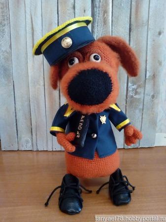 Барбос полицейский ручной работы на заказ
