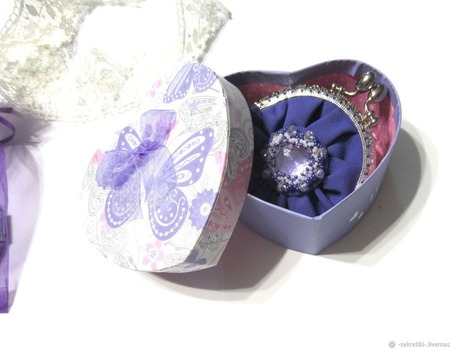 """""""Виолетта"""" кошелёк-монетница. ручной работы на заказ"""