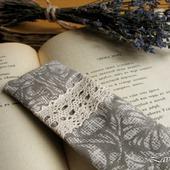 """Закладка для книг """"Винтаж"""" ароматическое саше с лавандой"""