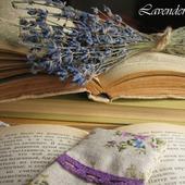 фото: Канцелярские товары (закладка для книг из льна)
