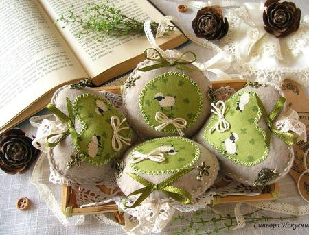 Интерьерные украшения Овечки... ручной работы на заказ