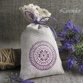 """Саше с лавандой """"Цветочный круг"""" ароматическое подарок"""