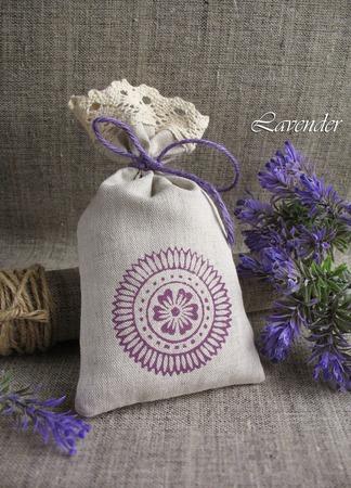 """Саше с лавандой """"Цветочный круг"""" ароматическое подарок ручной работы на заказ"""