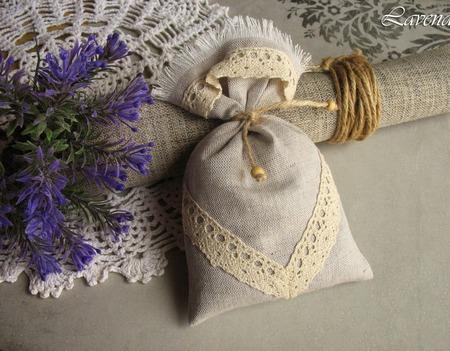 """Саше с лавандой """"Романтика"""" мешочек с травами ароматический ручной работы на заказ"""