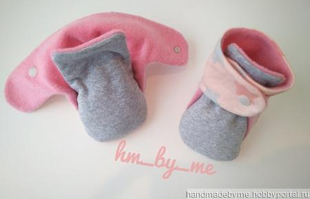 Моксы - первая обувь малышей ручной работы на заказ