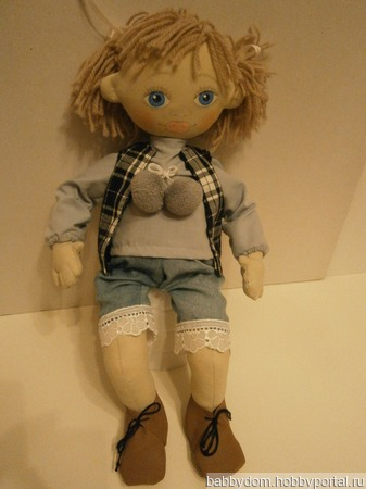 Кукла Шура ручной работы на заказ