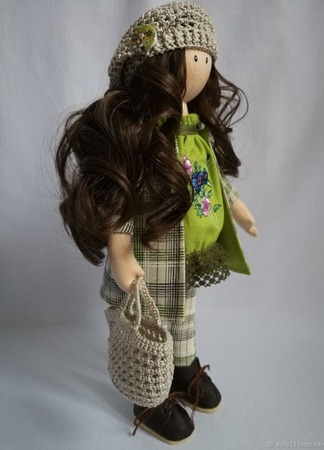 Трессы для кукол ручной работы на заказ