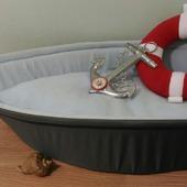 Лежанка для кошки Кораблик.