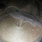 Джутовая пряжа  3 ММ для вязания эко  ковров.в стиле прованс. © https://www.livemaster.ru/item/edit/