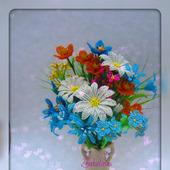 """Цветочная композиция """"Полевые цветы"""""""