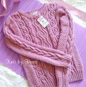 Вязаный джемпер Knit by Heart ручная работа