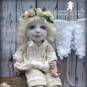 """Текстильная кукла """"Ангел мой, будь со мной"""""""