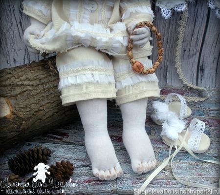 """Текстильная кукла """"Ангел мой, будь со мной"""" ручной работы на заказ"""
