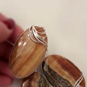 Симбирцит Комплект украшений