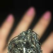 Морион Крупное кольцо