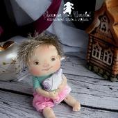 МК в формате PDF по созданию Ангелочка, Текстильная кукла Ангелочек
