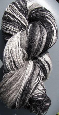 Кауни 6 Black- White ручной работы на заказ