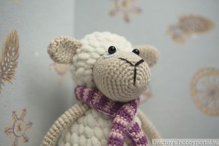 Милая овечка ручной работы на заказ