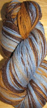 Кауни 10 Broun-Blue ручной работы на заказ