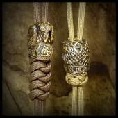 """Бусина """"Кольцо Одина"""" для темляков или браслетов бронза"""