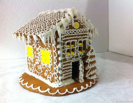 Пряничный домик Расписной ручной работы на заказ