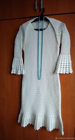 """Платье """"Зимняя сказка"""" ручной работы на заказ"""
