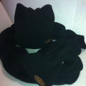 Комплект Кошачьи ушки черный