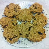 Печенье Овсяное домашнее Фитнес рецепт