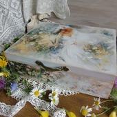 фото: Для дома и интерьера (женская шкатулка декупаж)