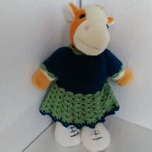 Платье для куклы Еловое