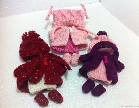 Комплекты одежды для игрушек и кукол ручной работы на заказ