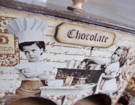 """Чайный домик """"Жизнь в шоколаде"""" ручной работы на заказ"""