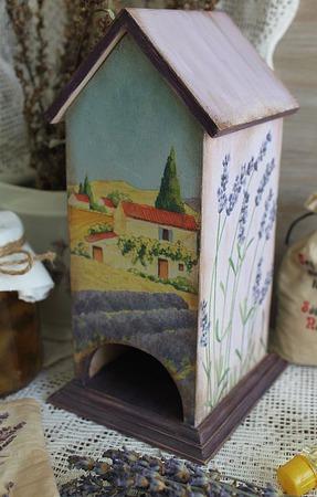 """Чайный домик """"Ароматы Прованса"""" ручной работы на заказ"""