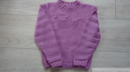 Пуловер Пинцесса ручной работы на заказ
