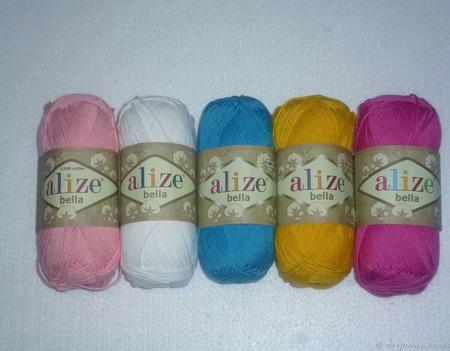 Пряжа Alize Bella ручной работы на заказ