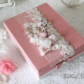 """Блокнот """"Принцесса"""" мамин дневник в коробке для девочки розовый"""