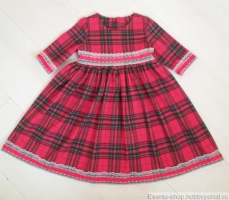 Платье трикотажное ручной работы на заказ