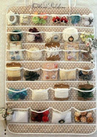 Органайзер для хранения рукодельнице подарок ручной работы на заказ