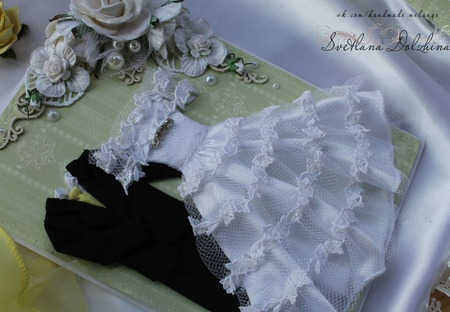 """Свадебная открытка """"С днем свадьбы"""" в коробке зеленый белый подарок ручной работы на заказ"""