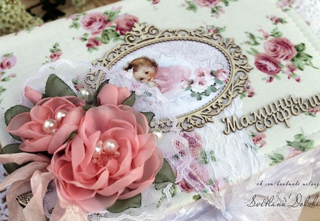 """Шкатулка""""Мамины сокровища""""для девочки коробка белый розовый ручной работы на заказ"""