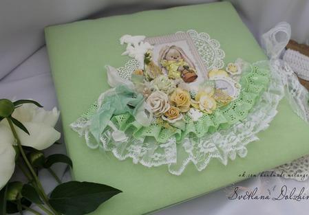 """Коробка """"Мамины сокровища"""" шкатулка для девочки салатовый подарок ручной работы на заказ"""