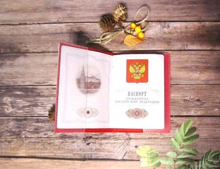 """"""" 12 мудрых сов"""" обложка на паспорт с вышивкой ручной работы на заказ"""