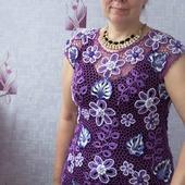 """Платье """"Сирень"""""""
