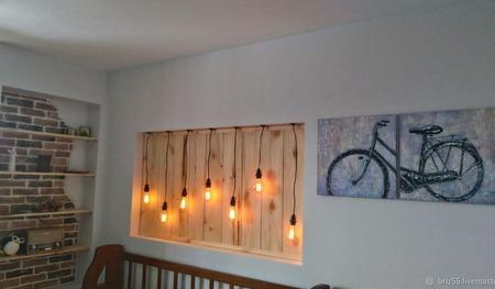 Модульная картина маслом Велосипед ручной работы на заказ