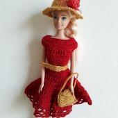 Платье,шляпка и сумочка