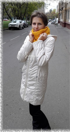 Снуд, шарф-кольцо ручной работы на заказ