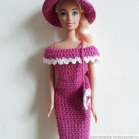 Обтягивающее элегантное платье и шляпка ручной работы на заказ