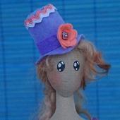 Корейский тряпиенс. Текстильная кукла Тейра.