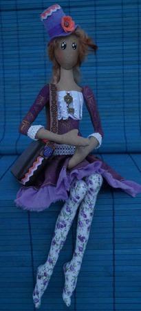 Корейский тряпиенс. Текстильная кукла Тейра. ручной работы на заказ