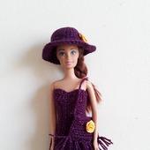 Современное платье с бахромой